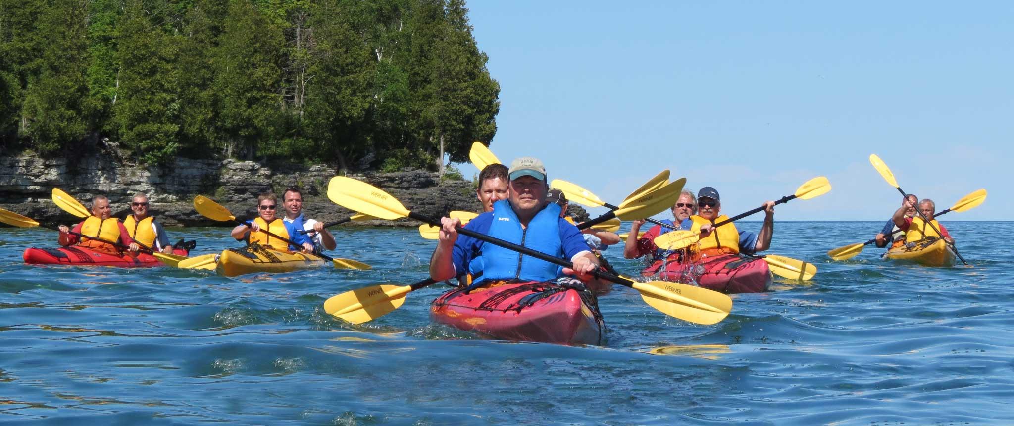 Kayak Workshops Door County Adventure Center