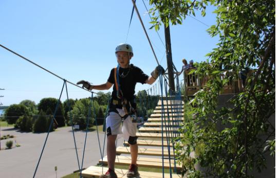 Rowleys Bay Resort Zip Line 11