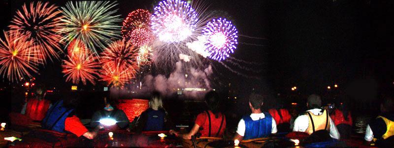Egg Harbor Fireworks Kayak Tour